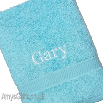 Aqua Blue XL Towel