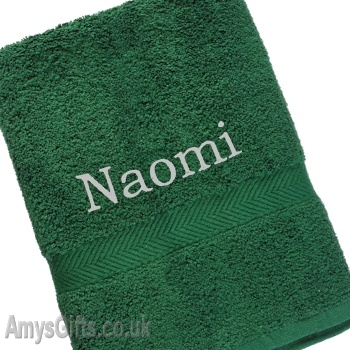 Forest Green Luxury Cotton Towel