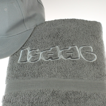 Grey Luxury Cotton Towel