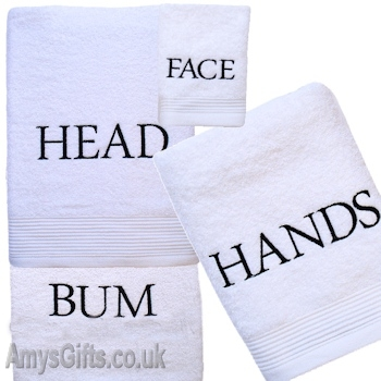 Top to Bottom 3pc Towel Set