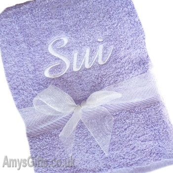 Lilac Luxury Cotton Towel