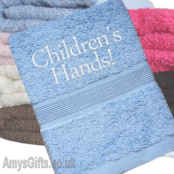 Blue Hand Towel