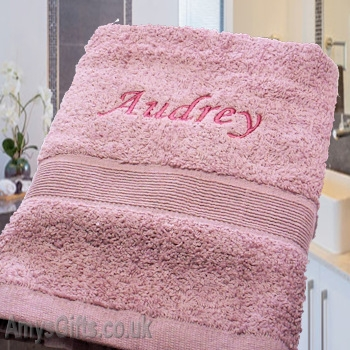 Baby Pink Hand Towel