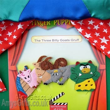 Finger Puppets - The Three Billy Goats Gruff
