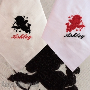 Cupid Personalised Hankies